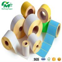 self adhesive labels on rolls direct thermal labels ticky paper roll Manufactures