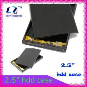 2.5 sata hard disk enclosure external hdd enclosure Manufactures
