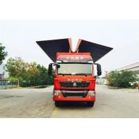 8X4 LHD Wing Van Cargo Truck Cargo Large Loading Capacity Commercial Vehicles Manufactures