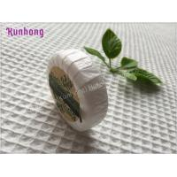 Customized Round White hotel small hotel toilet soap bar soap Manufactures