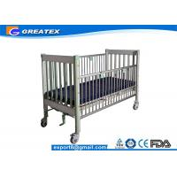 Luxury Adjustable Electric Pediatric Hospital Baby Bed , Hospital Baby Cart / Cot Manufactures