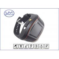 PT202D Personal GPS Wrist Watch Tracker for Kid / Adult with SOS Emergency Alarm, Mobile HF Phone Function Manufactures