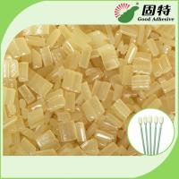 Environmental Yellow granule Hot Melt  Medical Glue Adhesive for Disposable Cleaning Cotton Swab Manufactures