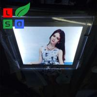 Anti Rust LED Crystal Light Box High Brightness Photo Frame For Advertising Manufactures
