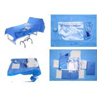 Operating Room Sterile Blue Sterile Drape Sheets for Baby Bith Surgery Manufactures