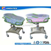 Transparent PP Mobile Hospital Baby Bed / Cot / Crib for infant with music display Manufactures