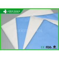Disposable Heavy Flat Fitted Cot Sheets For Stretchers PP 100g , 40