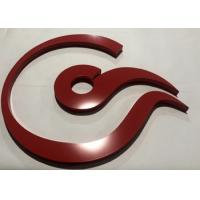 Dimensional 3D Acrylic Letters Non - Illuminated Customized Company Office Signs Manufactures