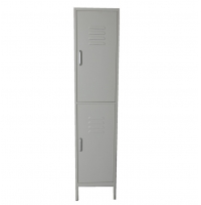 Wardrobe Locker 2 Doors 1.2mm 1.83m Closet Filing Cabinet Manufactures