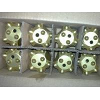 Tungsten Carbide Mining Drilling Tools , 7° Quarrying 34mm Taper Button Bit Manufactures