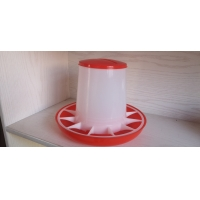 2kg 8kg Poultry Feeder Drinker For Chicken Feeding Lines Manufactures
