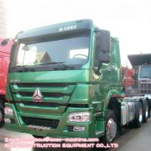 HOWO Heavy Duty Tractor Truck Tire 12R22.510 Wheel Trailer Head 6x4 420hp Manufactures