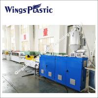 Plastic PVC Big Diameter Corrugated Pipe Manufacturing Machine / Production Line Manufactures