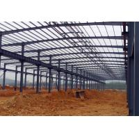 China Waterproof Structural Steel Plant , Industrial Steel Structure Building With Memory Calculation on sale