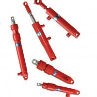 Harvester Agricultural Hydraulic Cylinders Double Acting Combine Manufactures