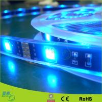 Blue Outdoor Battery Powered Flexible Led Strip Lights , 2835 Led Ribbon Strip Manufactures