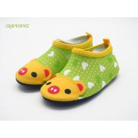 Customized Color Kids Aqua Water Shoes Cartoon Printing Protective Barefoot Manufactures
