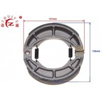 Buy cheap 110CC ATV Quad Parts Mechanical Steel Rear Brake Shoes from wholesalers