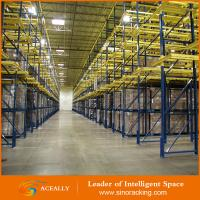 Heavy duty drive through pallet racking system Manufactures