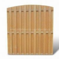 Garden Fence, Made of WPC Wood-plastic Composite, Non-rust Manufactures