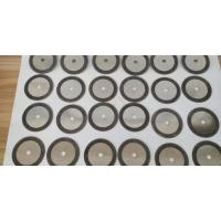 One Sided Coated Electroplated CBN Sharpening Wheels Disc For Cutting Steel Manufactures