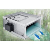 Compact Structure Rectangular Duct Fan For Air Exhausting System 125W Manufactures