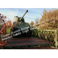 Prefabricated Modular Military Bailey Bridge for Government Easy Assembling Manufactures