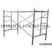 Multi - Function Ladder Frame Scaffolding Q235 Steel Pipe For Construction Work Manufactures