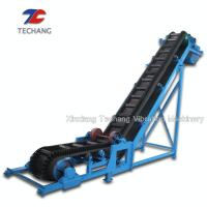 China PVC Belt Conveyor Machine Large Capacity For Bulk Materials Loading / Sorting on sale