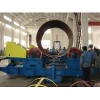 Wide Wheel Boiler Welding Rollers / Tank Turning Rolls High Efficient