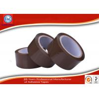 Cheap Heavy Duty Shipping Brown BOPP Packing Tape , Carton Packaging Tape for sale