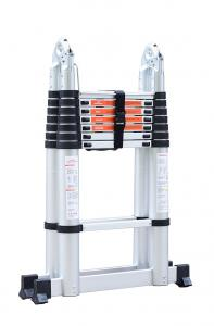 Silver Aluminium 5m Multi Purpose Telescopic Ladder Manufactures