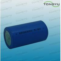 3.6V LiSOCL2 Lithium Primary Battery, ER26500 Lithium Thionyl Chloride Battery Manufactures