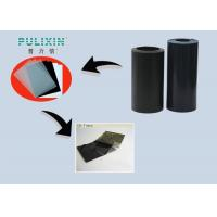 Anti Static Polystyrene Printing Plastic Sheets , Black Plastic Sheeting Roll Manufactures