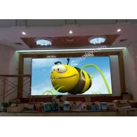 Cheap 1.66mm pixel pitch indoor high definition LED video display screen rear service for sale