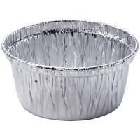 Fast Food Aluminium Foil Container H22 / H24 Round Shaped Cup Aluminium Foil Manufactures