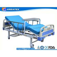 Family / Hospital Singel Crank Home Hospital Beds With Aluminium Guardrails Manufactures