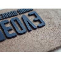 China Logo Custom Clothing Patches Garment Silicone Rubber Label Silicone Composite Patch on sale