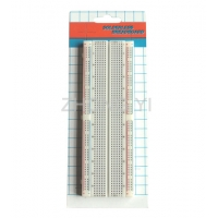 Transparent Soldered Breadboard Easily Inserted For Building / Testing Circuits Manufactures