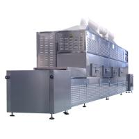 Continuous Hot Air Circulation Leaf Drying Machine / Hemp Drying Machine Automatic Manufactures