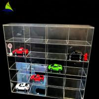 Commercial Acrylic Wall Display Case Toy Car Acrylic Display Toys Showcase Wall Mount Manufactures