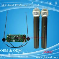 Cheap JK007 Professional wireless microphone with two channels for conference system for sale