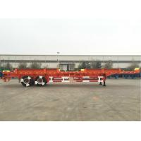 Buy cheap CIMC Truck Dual Axle Flatbed Trailer ABS System Axle For Port Yard from wholesalers