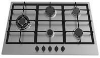 90cm stainless steel built in gas hob Manufactures