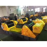 400T Turning Vessel Rollers / Rotator / Bolt Adjustable Tank Rotator Movable Manufactures