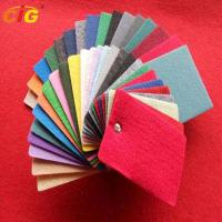 Multi Colors Auto Carpet Fabric For Internal Decoration Plain / Brushed / Jacquard Style Manufactures