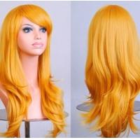 Cosplay Wig Long Hair Heat Resistant Spiral Costume Wigs for Female