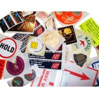 Strong Sealing Strength Security Sticker Labels Non Leakage Eco Friendly Manufactures