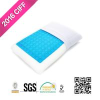 Sleep Cool Cooling Gel Reversible Memory Foam Loft Pillow For Neck Pain | MEIMEIFU MATTRESS Manufactures