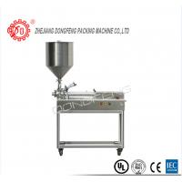 Bottle Cream Cosmetic Packaging Machine Piston Filler With 2 Heads Easy Operate Manufactures